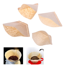 COFFEE-FILTER-BAG Hand-Drip-Paper Original 100pcs Wooden Eco-Friendly Unbleached