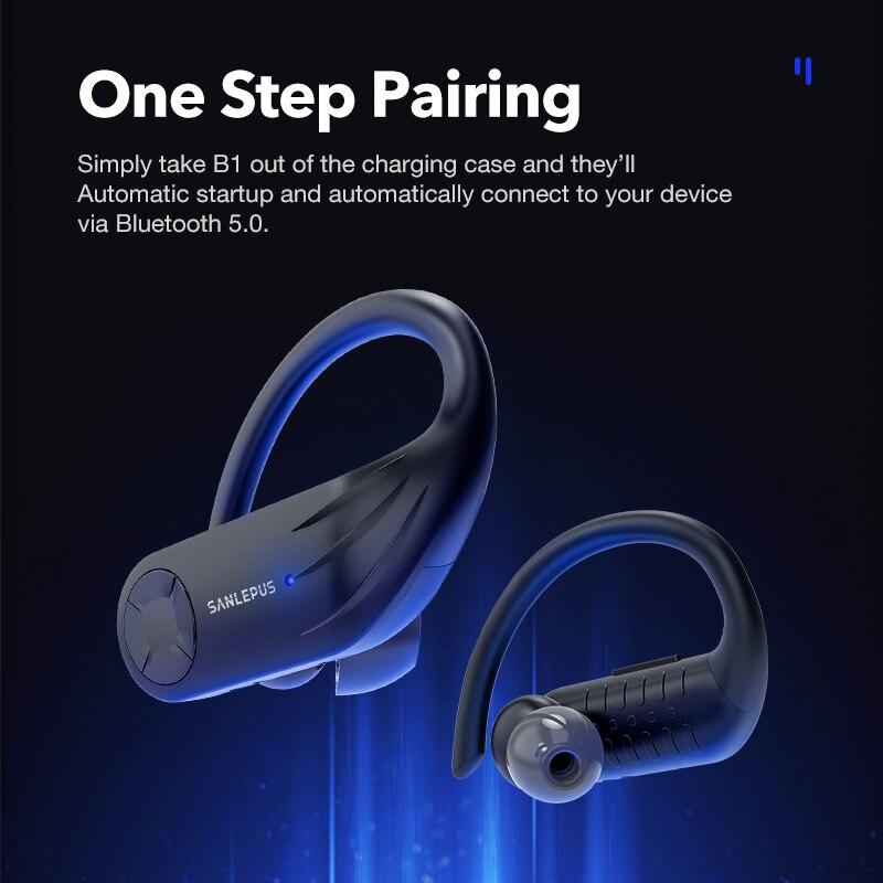 Écouteur Bluetooth sans fil SANLEPUS B1 4