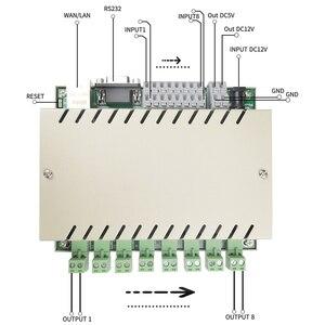 Image 3 - 8 عصابة شبكة واي فاي TCP IP التحكم التتابع لتقوم بها بنفسك وحدة تبديل أتمتة المنزل الذكي تحكم عن بعد إنذار الأمن بواسطة kincony