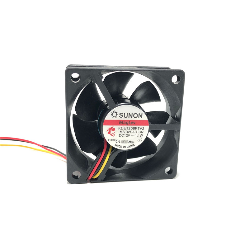 Pack of 4 12V 3Pin 60mm Mini 6cm Fan Silent Cooler Cooling Fan for Computer