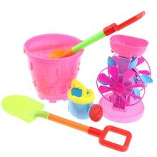 8 Pcs Children Sandy Beach Toys Castle Bucket Shovel Shovel Water