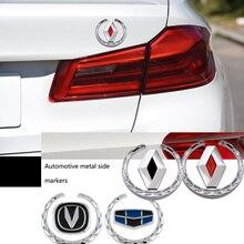 Автомобильный Стайлинг 3D наклейки из металла эмблемы для BMW M 1, 3, 4, 5, 6, 7E Z X M3 M5 M6 X1 X3 X4 X5 X6 X7 E46 E90 F20 E60 E39 F10