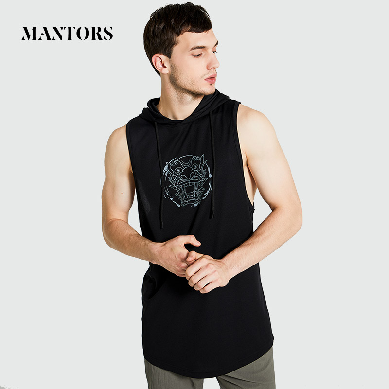 2020 New Men Tank Top Casual Brand High Quality Male Sportswear Gyms Undershirt Bodybuilding Singlet Fitness Men Sleeveless Vest