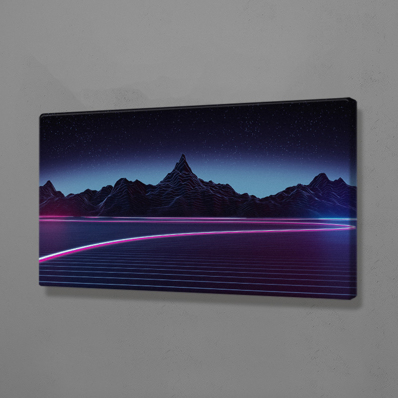 Synthwave Fashion Sculpture Modern Poster Wooden Frame Canvas Painting Wall Art Decor Room Study Home Decoration Framed Prints Buy Cheap In An Online Store With Delivery Price Comparison Specifications Photos And