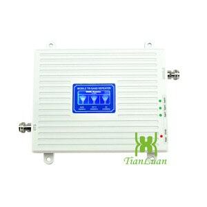 Image 2 - Трехдиапазонный усилитель сигнала 2G 3G 4G GSM 900 WCDMA 2100 LTE 2600
