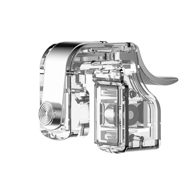 1 paire contrôleur auxiliaire Mini vis bouton de feu fixe déclencheurs de jeu poignée métallique amovible pour accessoires de jeux de téléphone S12