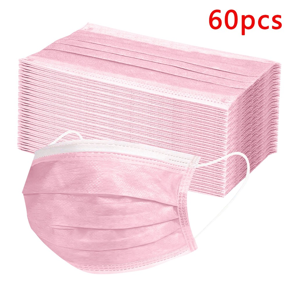 10-30-60-10pcs-pink-disposable-face-mask-good-quality-low-price-face-mask-one-time-use-adult-bibs-common-scarf-handwear-in-stock