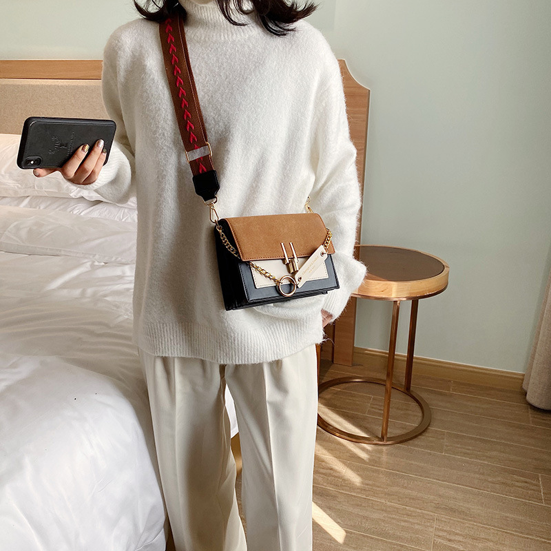 Image 4 - 2020 Luxury Handbags Vintage Small PU Leather Crossbody Bags For Women Shoulder Messenger Bags Chain Designer Female Flaps PurseTop-Handle Bags   -