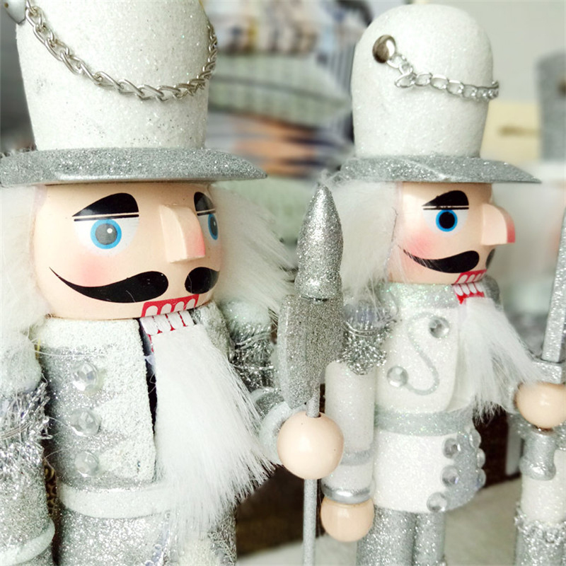 Рождественские украшения для дома Счастливого Рождества украшение ручной работы аксессуары - 5