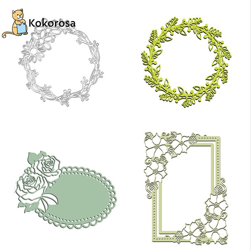 Kokorosa Steel Branches Leaf Metal Cutting Dies New 2019 Craft Dies Scrapbooking Stencil Paper Card Decorative  Craft Diecuts