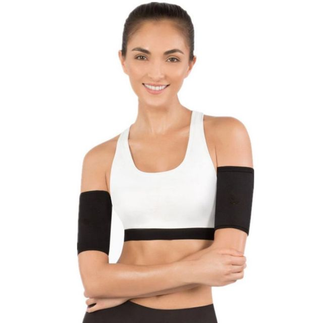 New Women Slimming Body Shaper Band Arm Cover Fitness Black Arms Shapers Shapewear Thigh Belts Sauna Leg Sweating Weight Loss 3