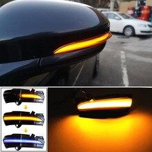 FORD MONDEO için MK5 2014 2019 MK V 5 LED yan kanat dinamik dönüş sinyali ışık dikiz aynası göstergesi araba aksesuarları