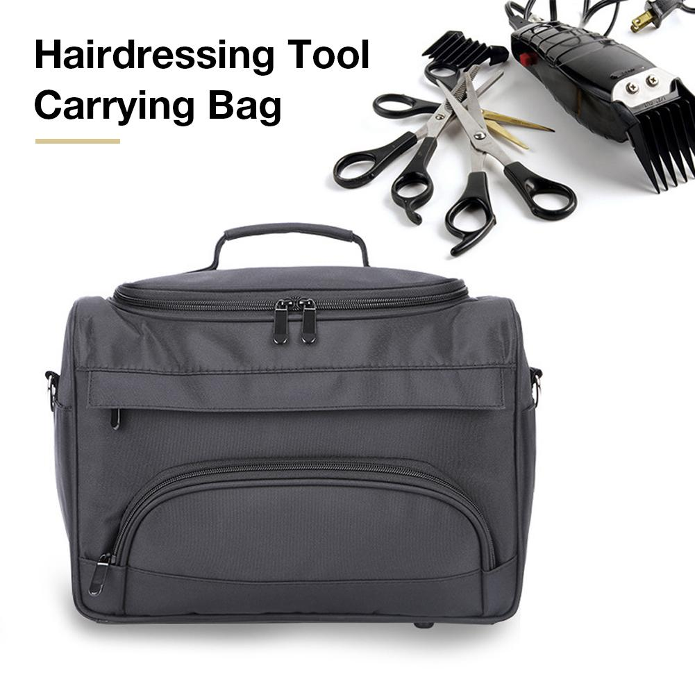 Portable Salon Barber Handbag Hairdressing Comb Tools Bag Makeup Storage Bag Travel Hairstyling Carry Case Styling Accessories