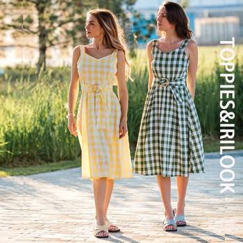 Toppies Fashion Plaid O-ring Belt Camisole Dresses Sexy Sleeveless Midi Dress 2021 Summer Clothes 1