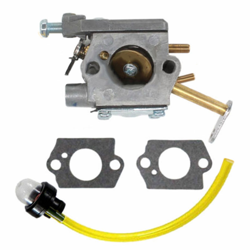 Carburetor Kit For <font><b>Homelite</b></font> <font><b>CSP</b></font> <font><b>3314</b></font> Chainsaw Walbro WT-673 A09159 000998271 Pro Primer bulb Gasket Fuel line kits hot sales image