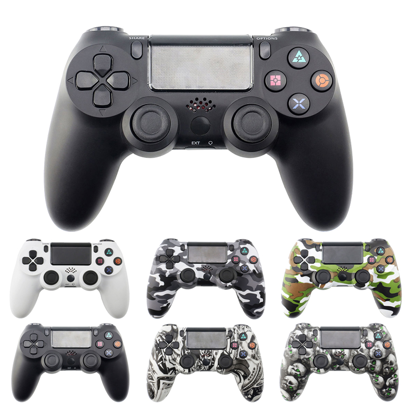 Bluetooth Wireless Gamepad Controller For Sony PS4/PS3 USB Wired Joystick Controle For Dualshock 4 Joypad For PlayStation 4