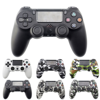 Bluetooth Wireless Gamepad Controller For Sony PS4/PS3 USB Wired Joystick Controle For Dualshock 4 Joypad For PlayStation 4 usb wired gamepad for playstation 4 joystick gamepads double shock joypad for pc for ps4 controller 2 2m cable for ps3 console