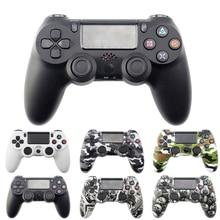 Controlador sem fio de bluetooth gamepad para sony ps4/ps3 usb com fio joystick controle para dualshock 4 joypad para playstation 4