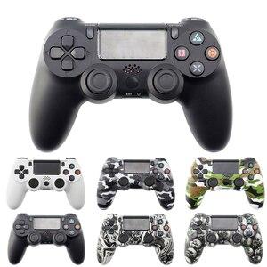 Image 1 - Mando inalámbrico Bluetooth para Sony PS4/PS3, mando con cable USB para Dualshock 4, Joypad para PlayStation 4