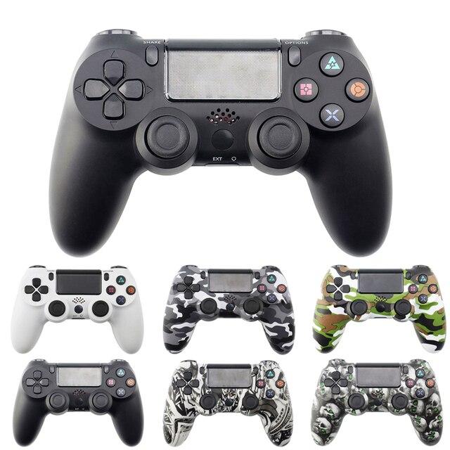 Mando inalámbrico Bluetooth para Sony PS4/PS3, mando con cable USB para Dualshock 4, Joypad para PlayStation 4