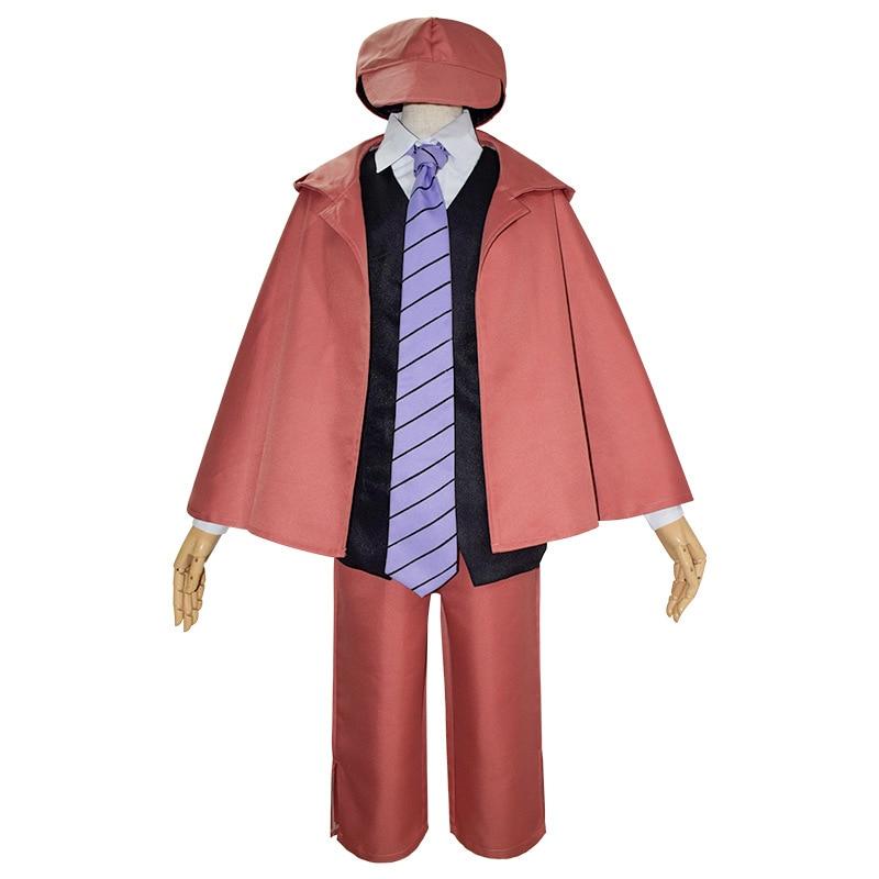 Anime bungo cães vadios trajes cosplay ranpo