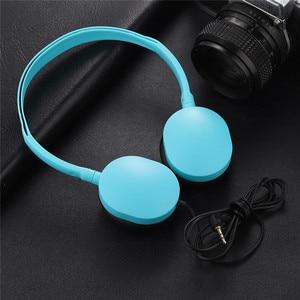 Image 2 - Kinder Kopfhörer Faltbare Einstellbare Verdrahtete Kopfhörer Headset mit 3,5mm Audio jack für Kinder Mp3 Smartphone