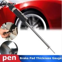 Vehemo универсальные тормозные колодки толщина тестовые инструменты поставки 1 шт. автомобильные инструменты для Honda/Toyota/Kia/Chevrolet