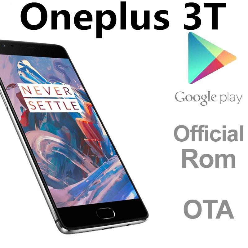 Международная прошивка Oneplus 3T 4 аппарат не привязан к оператору сотовой связи смарт-телефон Snapdragon 821 6 ГБ Оперативная память 128 Гб Встроенная ...