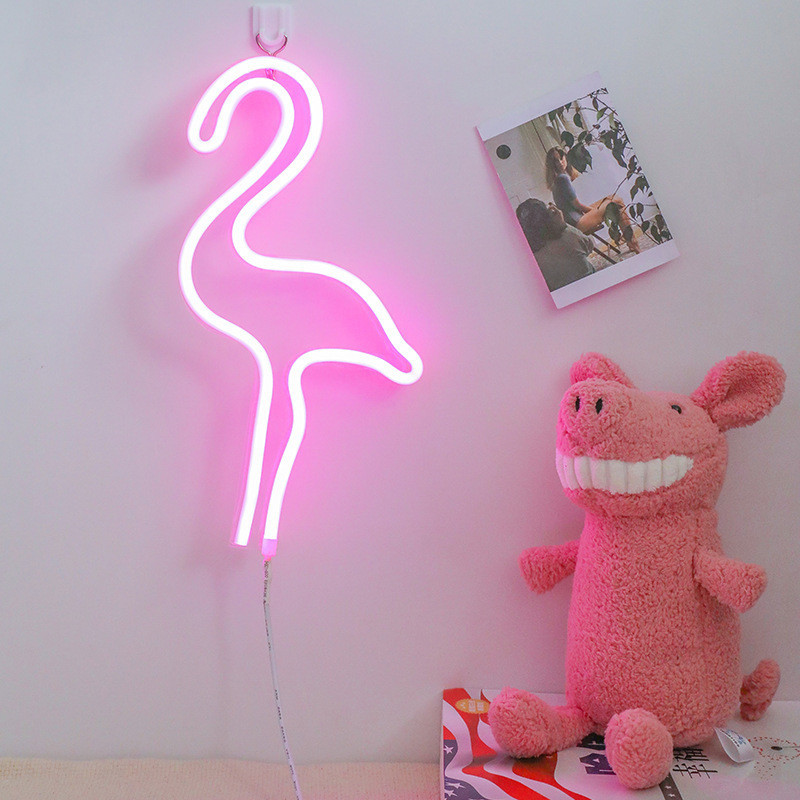 Fashion Colorful Rainbow Led Neon Sign Light Holiday Xmas Party Wedding Decorations Kids Room Night Lamp Home Wall Decor 11 Kind image