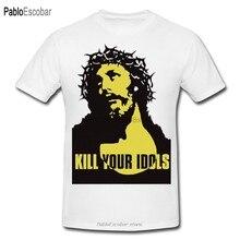 Футболка Kill your idol, забавная футболка Axl Rose Guns N roses с принтом на заказ, удобная футболка с круглым вырезом