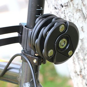 Bicycle Lock Anti-Theft Chain Burger Lock Mountain Bike Bicycle Accessories Electric Car Fixed Folding Lock Accessories