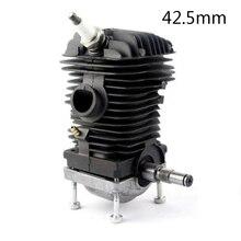 Kelkong kit de pistão do cilindro para stihl 023 025 ms230 ms250 42.5mm motosserra 45cc motor