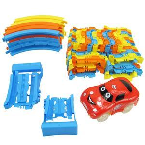 Block Track Toys Set Building