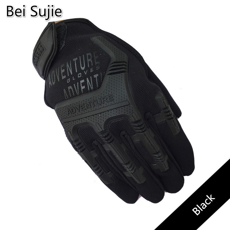 Tactical Combat Gloves For Men Camouflage Paintball Military Shooting Gloves For SWAT Soldiers Bicycle Gloves