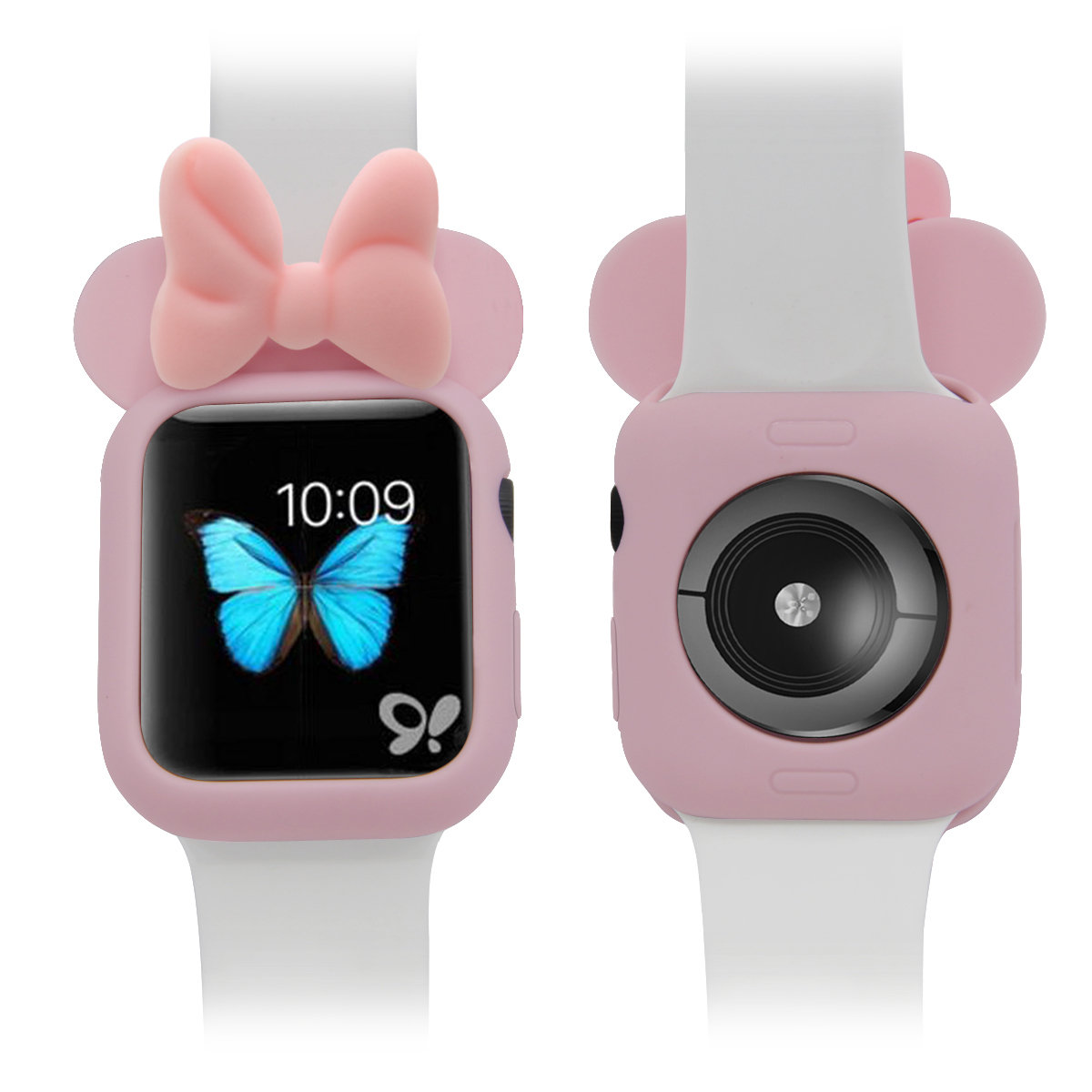 Serilabee MI NI <font><b>CASE</b></font> for apple <font><b>watch</b></font> 4 5/3/2/1 40MM 44MM Lovely protect Tpu <font><b>cases</b></font> for iwatch series 4 5/3/2/1 image