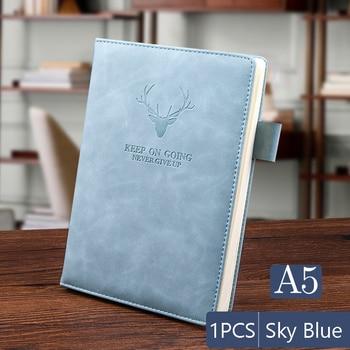 """leather a5 notebook"" Δερμάτινο σημειωματάριο Α5"