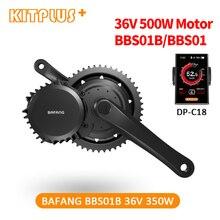 Gratis Verzending Bafang BBS01 350W Kit 36V 350W Bafang 8Fun Mid Drive Bike Motor Voor Fiets Bafang ebike Kit Fiets Conversie