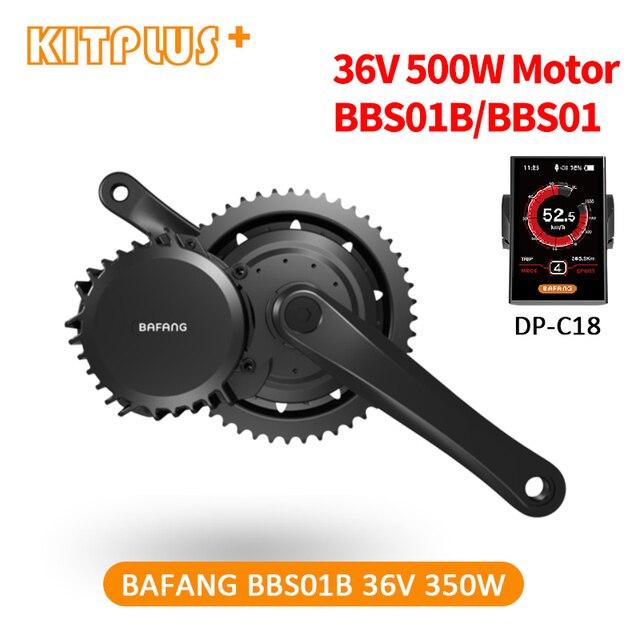 送料無料 bafang BBS01 350 ワットキット 36 v 350 ワット bafang 8Fun 駆動バイク自転車 bafang 電動自転車キットバイク変換