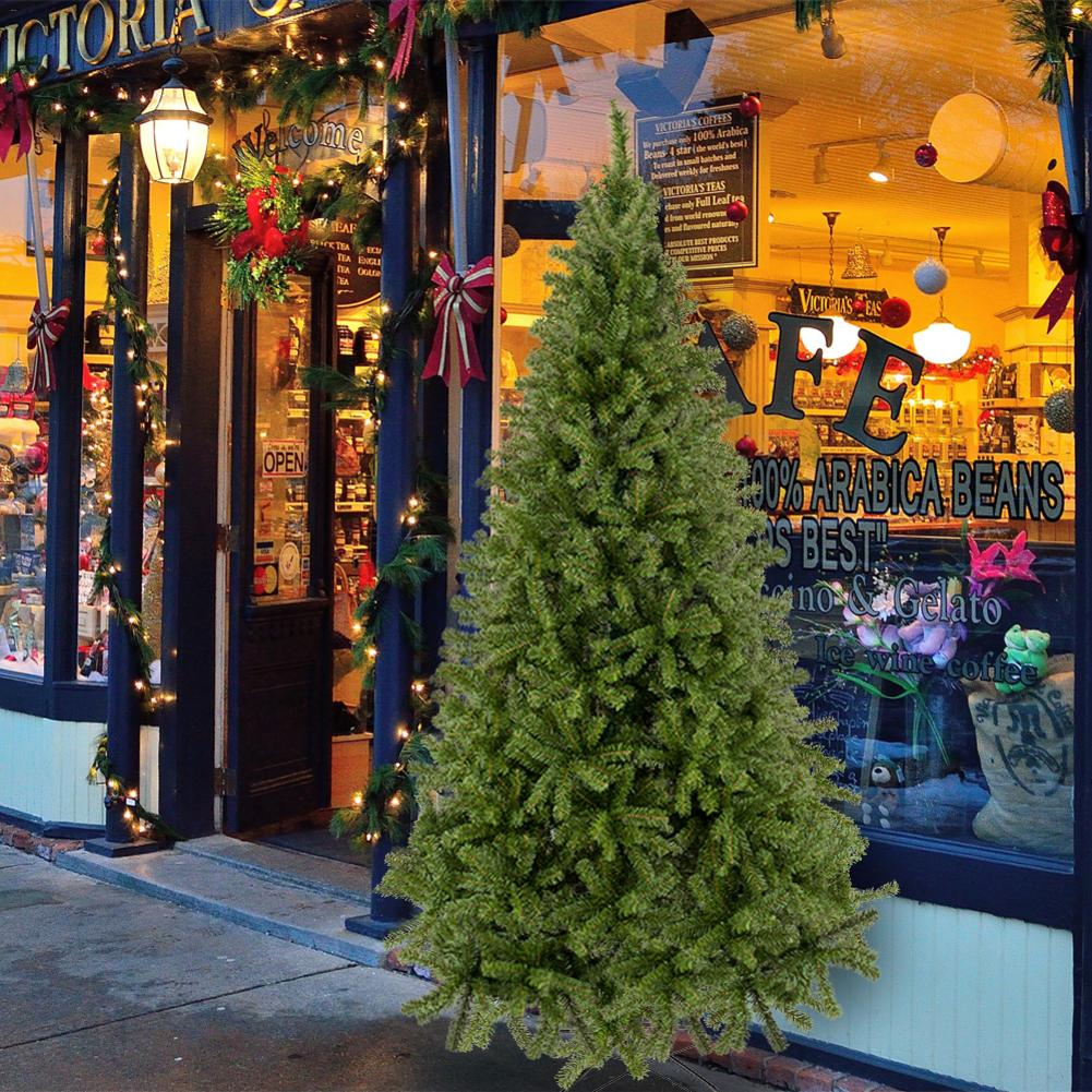 7,5 ПВХ Рождественская елка arbol de navidad 1450 ветка елки рождественские украшения arvore de natal choinka в наличии США - 6