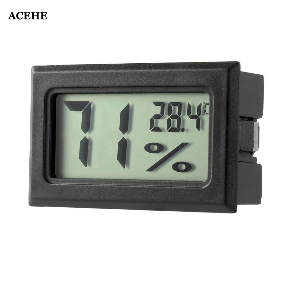 ACEHE New Professional Mini Digital LCD Thermometer Hygrometer Humidity Temperature Meter Indoor Hygrometer Gauge Drop shipping Temperature Instruments    - AliExpress
