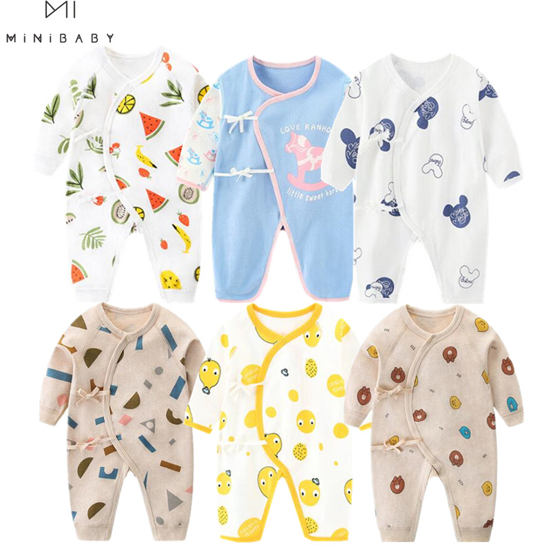 Super Quality Newborn Romper One Piece Infant Boy Clothing Cute Girls Baby Clothing Organic Cotton Underwear Roupa Infantil