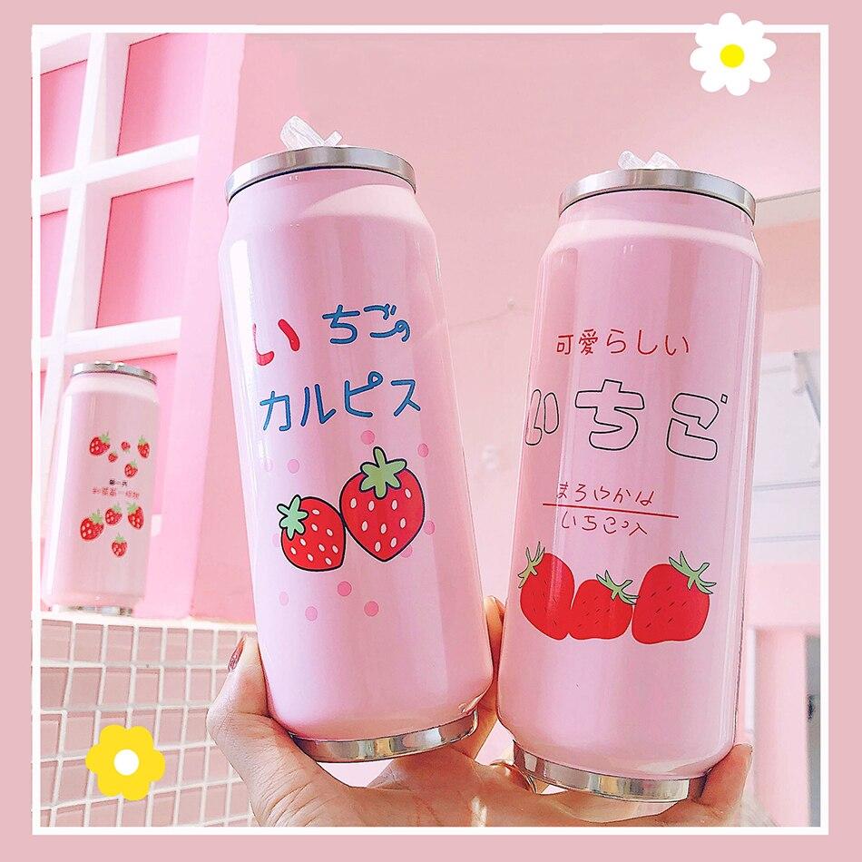 Kawaii Strawberry Vacuum Cup 2
