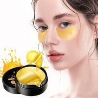 Gold Collagen Augen Maske Augenklappen für Dunkle Kreis Feuchtigkeitsspendende Auge Pad Anti-Falten Nährende