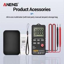 ANENG – multimètre numérique AN303, 4000 points, affichage LCD, plage automatique, compteur universel, résistance AC/DC, voltmètre multifonctionnel