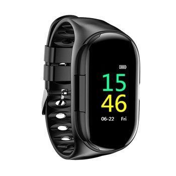 M1 On-ear Headphone Smart Bracelet Color Screen Sports Bracelet Multi-function Step Health Monitoring Smart Watch