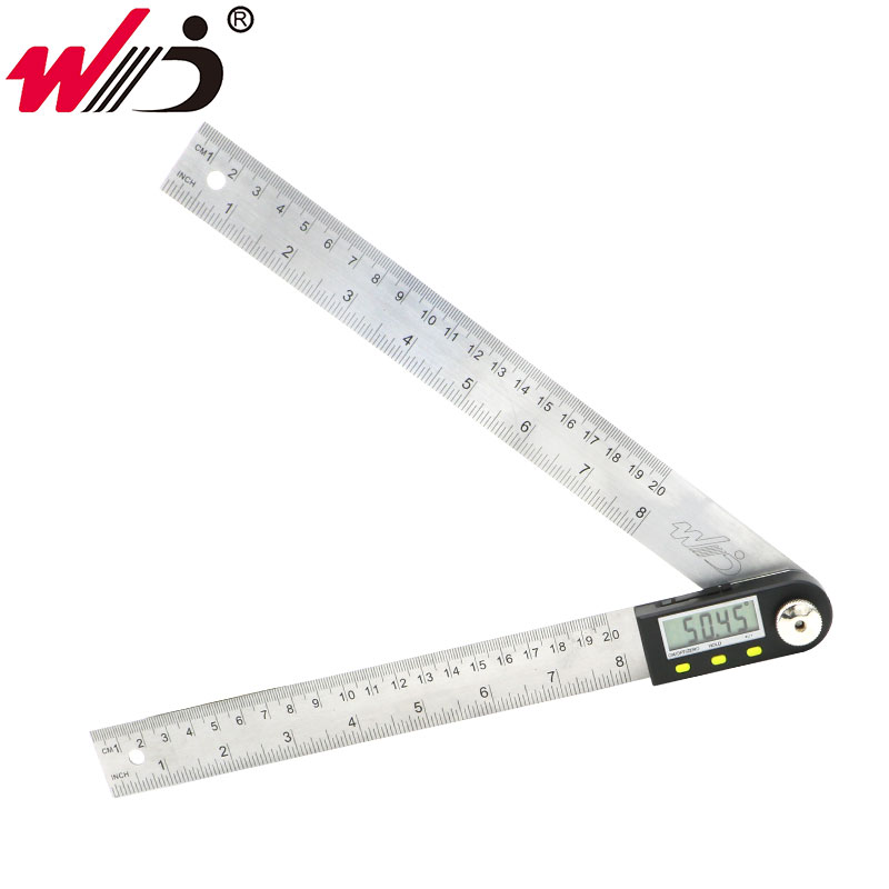 200mm Digital Angle Rule Inclinometer Protractor Stainless Steel Electronic Goniometer Angle finder Measuring Tools