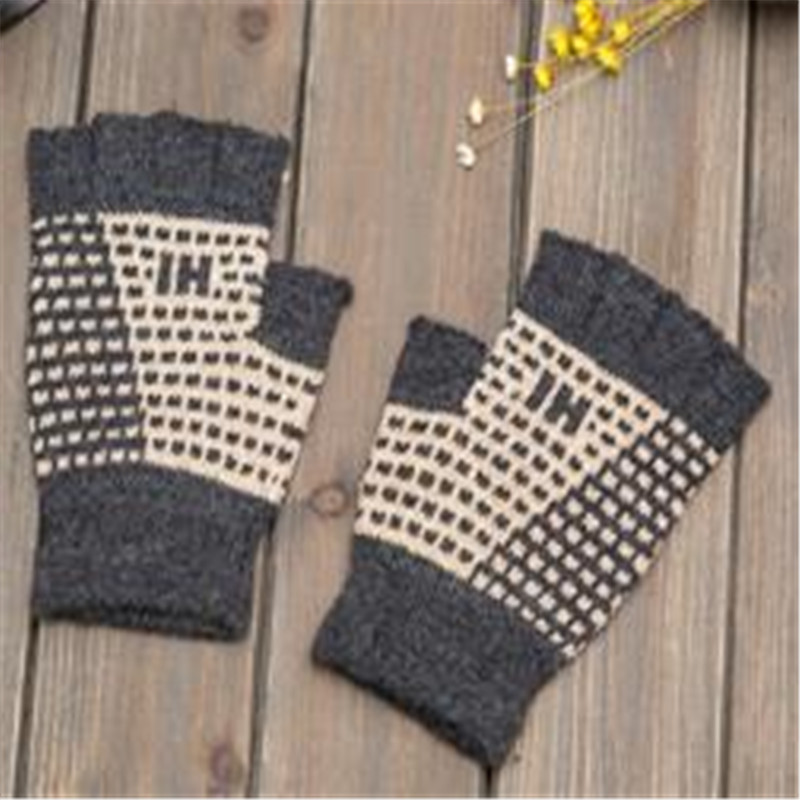 New Fund Of 2019 Winter Men Knitting Warm Wool Half Refers To Cycling Glove Factory Lay In Wholesale Supply Of Goods  Jt-4