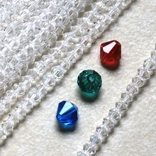 Other unique 12 colors 3MM BICONE CRYSTAL BEADS 100PCS/LOT FACTED 16FACES JEWELRY MAKING DIY