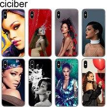 Phone-Case Rihanna Tpu-Cover Soft-Silicone Plus Ciciber for 11 Pro Max-X-Xr Xs-Max 7