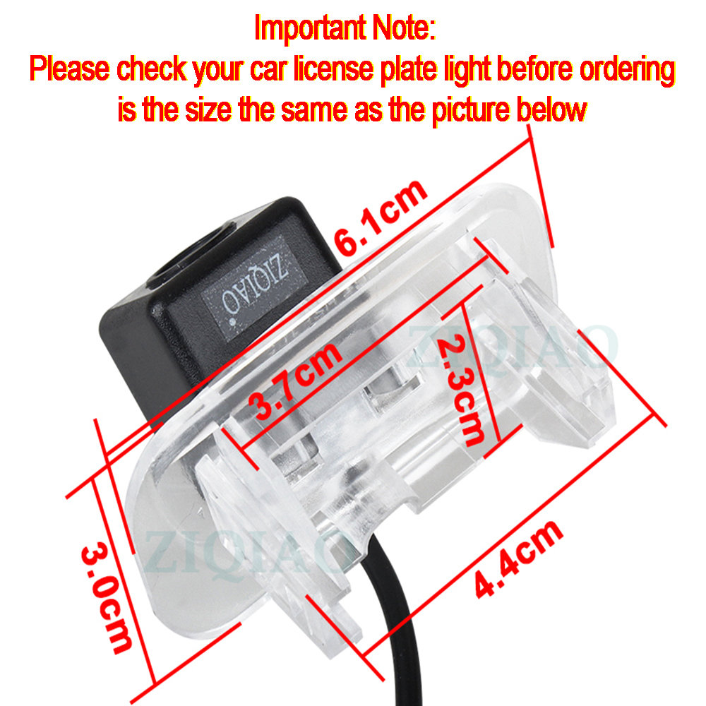 cheapest ZIQIAO for Mercedes Benz A B Series W245 W169 A150 A160 A200 B150 B180 B200 Night Vision Reverse Parking Camera HS101
